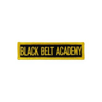 Merit Patch: Forms: Black Belt Academy...