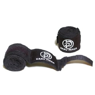 Krav MAGA Boxing Black Hand Wraps Pair...