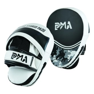 PMA Elite Curved Camo Focus Pads - Pair