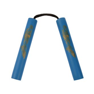 NR-002: 8 Inches Blue Nunchaku Foam...
