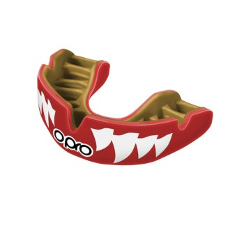 Opro Power-Fit Red Aggression MouthGuard - Adults