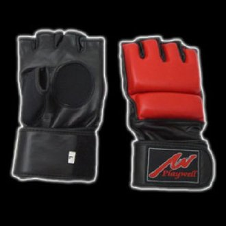 Pro MMA Genuine Leather Combat Gloves
