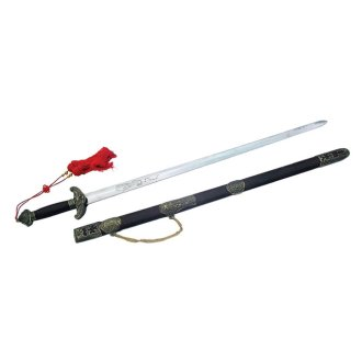 Antique Wushu Tai Chi Sword - (D490-C12)