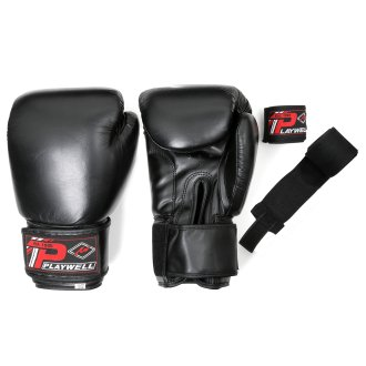 Boxing Gloves Leather - With Free...