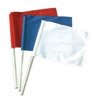 Competition Referee Flags