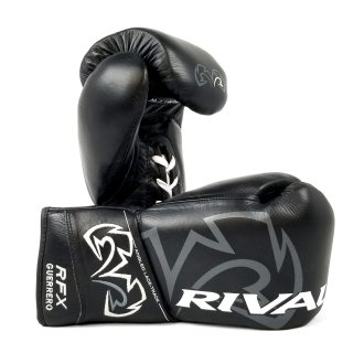 Rival Boxing RFX-Guerrero Pro Fight Gloves - Black