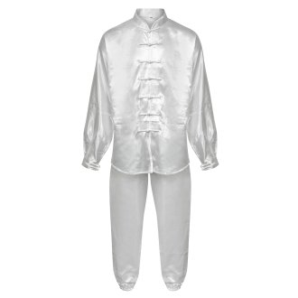 Tai Chi / Kung Fu Silk Uniform - White