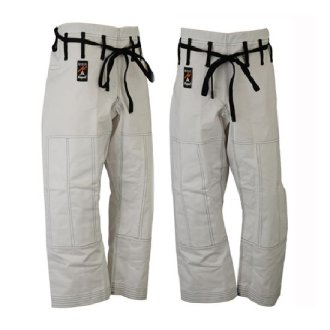 Elite Jiu Jitsu Trousers - White