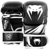 Venum MMA Challenger 7oz Sparring Gloves - Black/White
