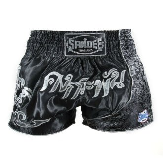 Sandee Unbreakable Muay Thai Shorts - Black
