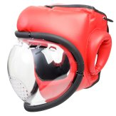 Kudo Red Headguard: Full Mask