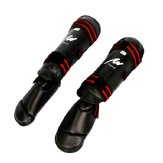 Elite 3 in 1 Shin-Instep Guard - Black