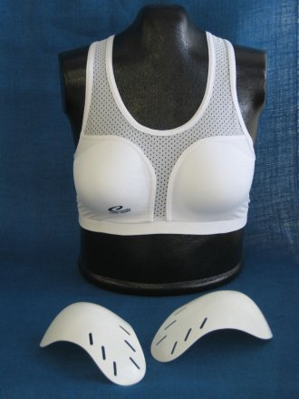 Ladies Cool Chest Guard - Complete Set