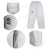 Elite Ultra Light White Taekwondo Training Pants - Kids