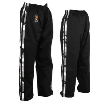 Full Contact Trousers - Black W/ 2 Camo...