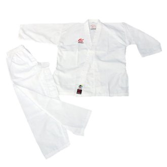 WKF Approved Elite Karate Beginners Gi (8oz)- Childrens