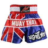 Muay Thai Competition Fight shorts - Uk Flag Shorts