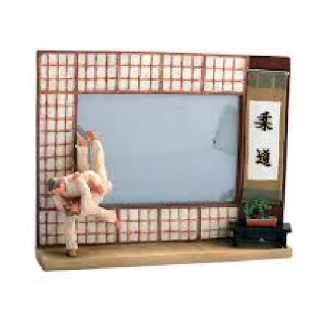 Photo Frame: Resin: Judo