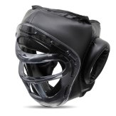 Krav Maga Headguard with Optical Acrylic Face Mask