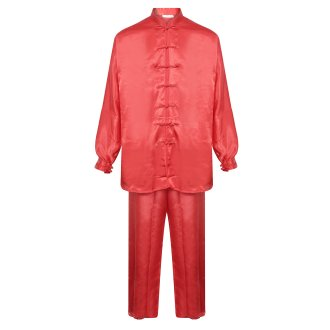 Tai Chi / Kung Fu Silk Uniform - Red