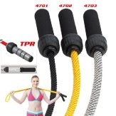 Deluxe Heavy Weighted Skipping Jump Rope - 0.75Kg