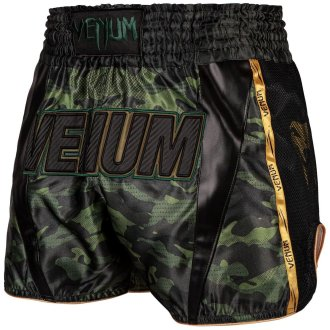 Venum Full Camo Muay Thai Shorts - Green