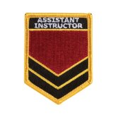 Assistant Instructor Shoulder Patches - P80
