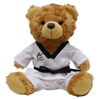 Childrens Taekwondo Plush Teddy Bear