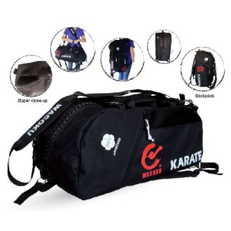 WKF Approved Karate Duffel & Back Pack...