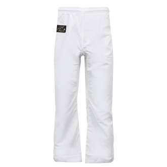 Ultra Light weight White Micro fibre Trousers