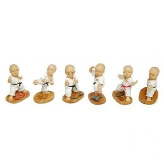 Karate Mini 6pc Figures Set - H960