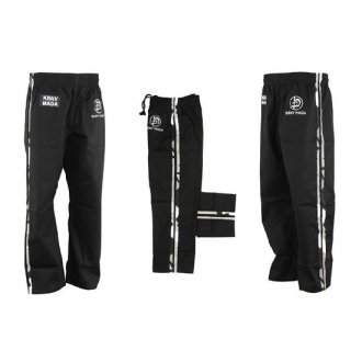 Krav Maga Combat Trousers - Black W/ 2...