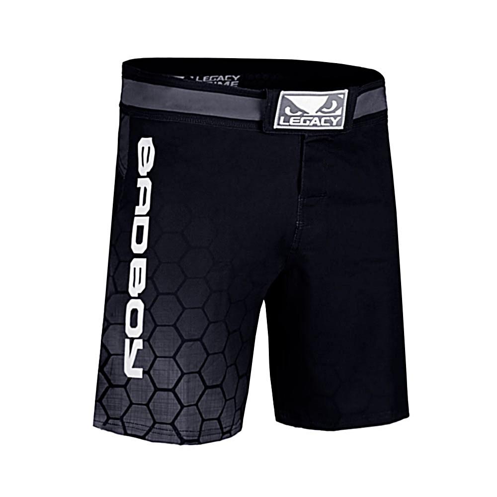 MEXMOB BLUE MMA JIU JITSU GRAPPLING BOX FIGHT SHORT