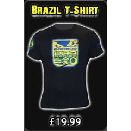 Bad Boy Black - Brazil T-Shirt