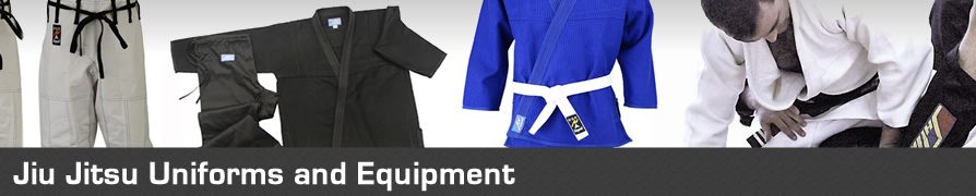 Jiu Jitsu Uniforms and Equipment