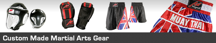 Custom Made Martial Arts Uniforms, Boxing Gloves, Muay Thai Shorts