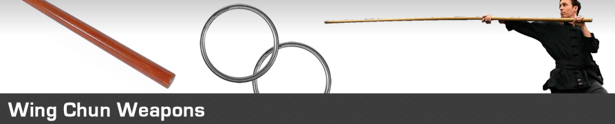 Martial Arts Wing Chun Weapons, Rattan Rings, Wing Chun Poles,