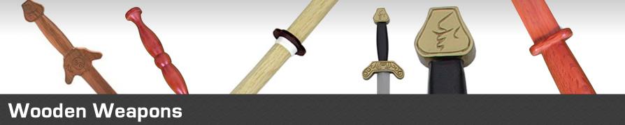 Martial Arts Weapons, Bokkens, Jo Staffs, bo Staffs, Sais