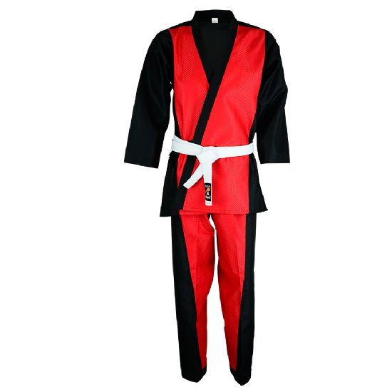 Elite Freestyle Dobby Team Uniform - Black/Red