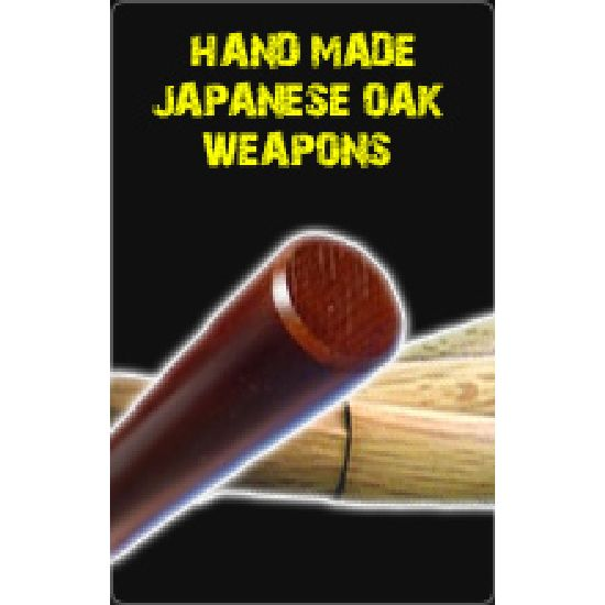 Hand Made Japanese Oak Weapons