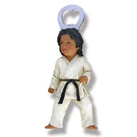 Martial Arts Karate Figure - Bottle Opener - Click Image to Close