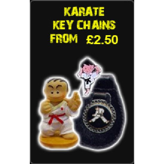 Karate Key Chains From £2.50