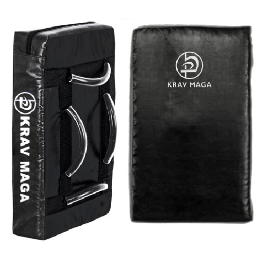 Krav Maga Black Kick Shield - Click Image to Close