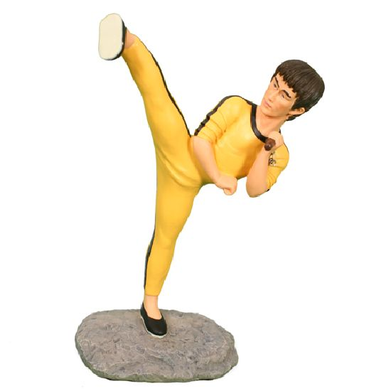 Mini Bruce Lee Figurine - Click Image to Close