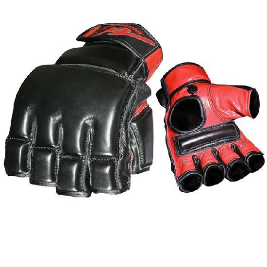 MMA COMBAT Bag and Mitts Leather Gloves