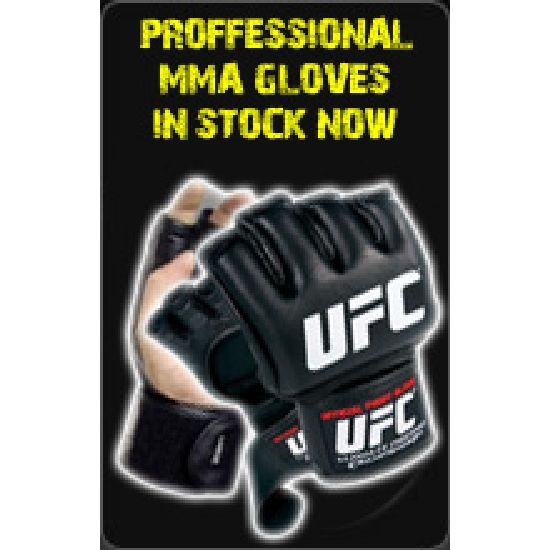 Proffessional MMA Gloves in Stock Now