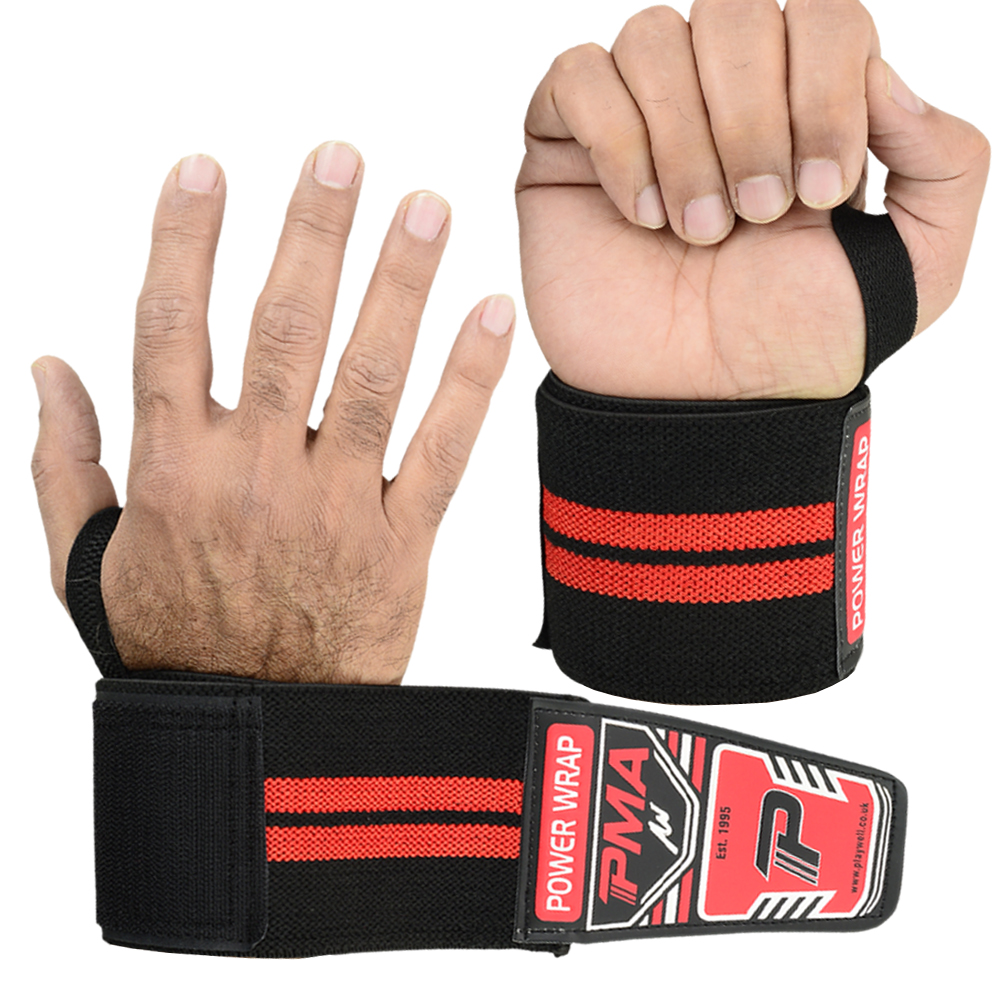 Power Weight Lifting Pro Series Wrist Wraps - Click Image to Close