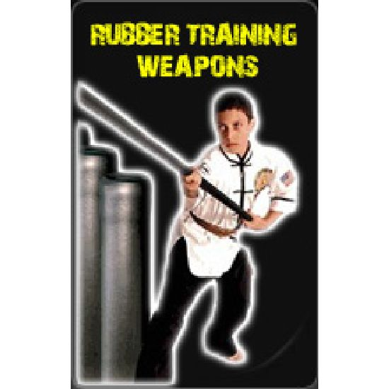 Rubber Training Weapons