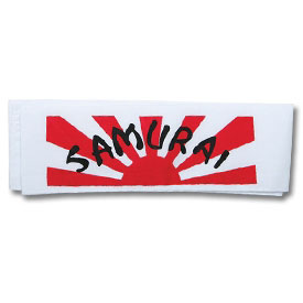 Karate Samurai Rising Sun Headband 17
