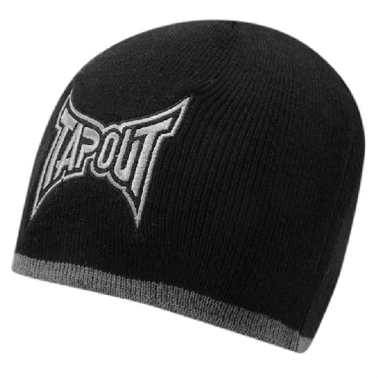Tapout Black/Grey Warm Beanie